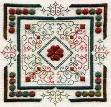 The Caron Collection Wildflower Hearts Indigo Rose