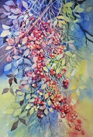 items similar to caa di bacche 52 x 36 on find this pin and more on watercolor negative painting