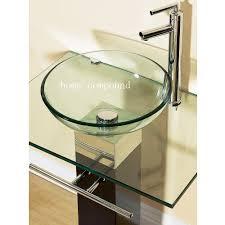 interior glass sink bowls surripui net peaceful bathroom precious 6 glass bathroom sink bowls