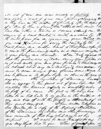 Lewis Fields Linn to Andrew Jackson, July 4, 1843 - PICRYL Public Domain  Image