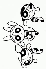 Small Picture The Powerpuff Girls Coloring Pages Cartoon Coloring Pages
