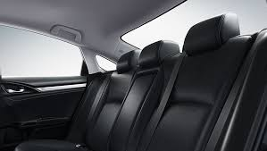 2018 civic leather rear seats
