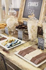 Smores Themed Wedding Dessert Table Decoration Ideas Oh Best Day Ever