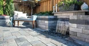 unilock wall dimensional stone granite unilock retaining wall s