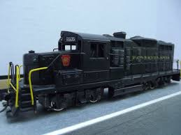 Brass HO Scale Tenshodo Tokyo Japan PRR Diesel GP-20 Train Engine w ...