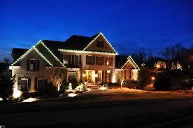 xmas lighting ideas. C9 Lights Are A Popular Way To Highlight Home\u0027s Roofline. Xmas Lighting Ideas X