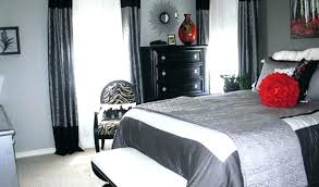 Red And Black Bedroom Red And Black Bedroom Paint Ideas Red Wall ...