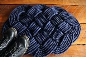 nautical rope rug rug nautical bath rugs unique nautical decor navy rope rug navy bath mat