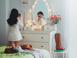 dressing table lighting ideas. magical mirror dressing table lighting ideas