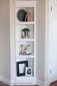 Corner shelves for bedroom