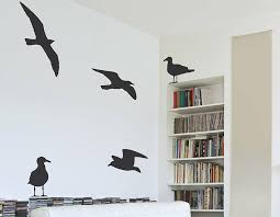 Small Picture Seagull Vinyl Wall Sticker Contemporary Wall Stickers
