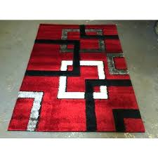 large red area rug red floor rug gy area rug modern floor decor red black white