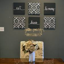 charcoal eat drink be merry set on eat drink and be merry metal wall art with product categories 6 piece wall decor sets