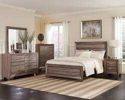 Taupe Bedroom Kauffman Washed Taupe Panel Bedroom Set