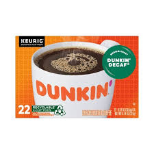 Half caff coffee is a type of coffee resulting from the mixture of caffeinated coffee beans and decaffeinated coffee beans. Dunkin Dunkin Decaf Keurig K Cup Pods 22ct Target