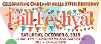 Fall Festival Flier Om Fall Festival Flyer Logo Oakland Mills