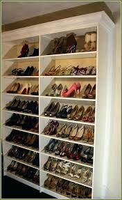full size of diy closet shoe rack plans shelves for super space saving how bathrooms marvelous