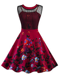 Pin Up Dress Pattern Unique Decorating