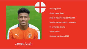 Justin, who can also play in midfield, was a regular under nathan jones as the. James Justin Leicester City Luton Town 2019 Highlights Youtube