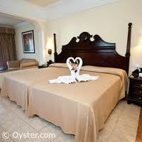 two double beds. Perfect Double The Junior Suite With Two Double Beds At The Hotel Riu Palace Riviera Maya Intended W