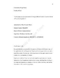 essay on infinitive or ing