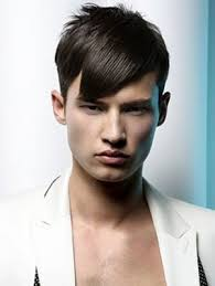 mens fringe cut hair gents salon