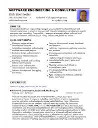 Resume Sample Modern Resume Format Software Engineer Sample