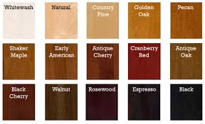 colors of wood furniture. Color Chart Of Stain Colors For Dog Crate Furniture Wood C