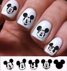 Amazon.com: Nail Art Decals Set 3D DIY Mickey Mouse Disney Cartoon ...