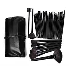 best professional makeup brushes. professional makeup brush set 32 piece (black) best brushes e
