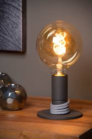 Tafellamp Marit Zwart Tafellampen Met Nachtlampje In Basis