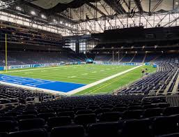 Ford Field Section 120 Seat Views Seatgeek