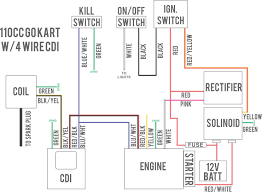 50cc cdi wiring diagram 50cc wiring diagrams collection ATV Wiring Diagrams For Dummies at Roketa 50cc Atv Wiring Diagram