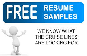 Cruise Ship Jobs Cruise Ship Employment Tips For Resumes And