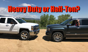 Half-Ton or Heavy Duty Pickup? Which Truck is Best for You? (Video ...