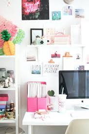 girly office supplies. Creative Workspace Home Office With Pops Of Pink Girly Supplies Uk