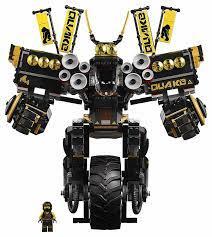 LEGO The Ninjago Movie Quake Mech 1202 Pieces RETIRED NEW/SEALED 70632 LEGO  Baukästen & Sets
