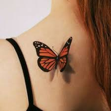 Tattoo Uploaded By Iacopo Notari Farfalla3d Butterfly Farfalla