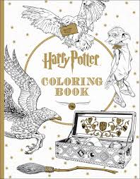 image result for harry potter coloring book