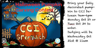 Pumpkin Carving Contest Flyers Cci To Hold Halloween Pumpkin Carving Contest
