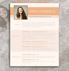 Free Resume With Photo Template Free Modern Resume Template Free Design Resources 19