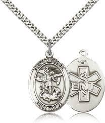 bliss emt st michael archangel silver