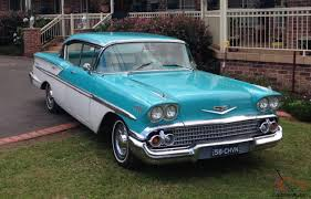 Belair 1958 Pillarless 4 Door Hardtop 350CI Auto 55 56 57 LHD NSW ...