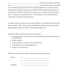parental consent letter template print paper templates in consent letter for children travelling abroad consent letter for children travelling abroad