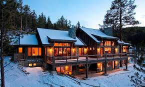 An Unique Mountain Architectural Idea For Your Home  Interior - Mountain home interiors