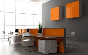 Great Painting Ideas Unique Painting Ideas For Office View In Gallery Orange Red Chairs