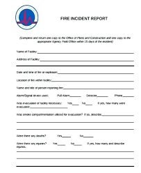Sample Incident Report Templates Doc Free Premium Network