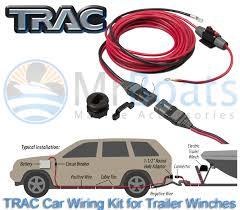 wiring a trailer winch auto electrical wiring diagram \u2022 Trailer Winch Power Supply trac vehicle wiring kit 4 electric trailer winches 60 amp 12v power rh ebay com au winch wiring kit winch wiring diagram