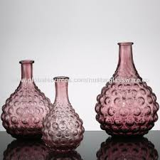 china bubble glass vase drop shape bud vases