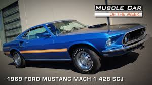 Muscle Car Of The Week Video Episode #91: 1969 Ford Mustang Mach 1 ...
